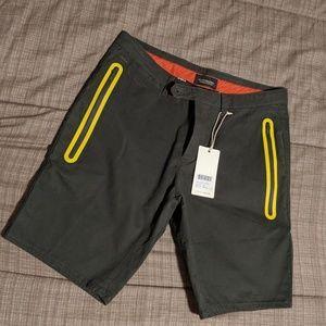 Scotch & Soda Men's Green Shorts NWT